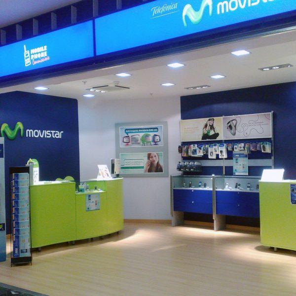 Reforma integral: OFICINAS MOBILPHONE ESPAÑA
