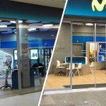 Reformas Integrales de tiendas Movistar en Madrid y Valencia