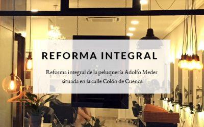 Reforma integral de salón de belleza en Cuenca