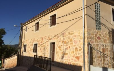 Construcción de vivienda unifamiliar en Villalba de la Sierra