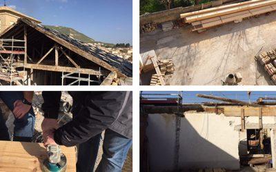 Rehabilitación de cubierta en edificio histórico de bien cultural