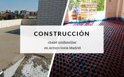 Construcción de chalet unifamiliar en Arturo Soria, Madrid