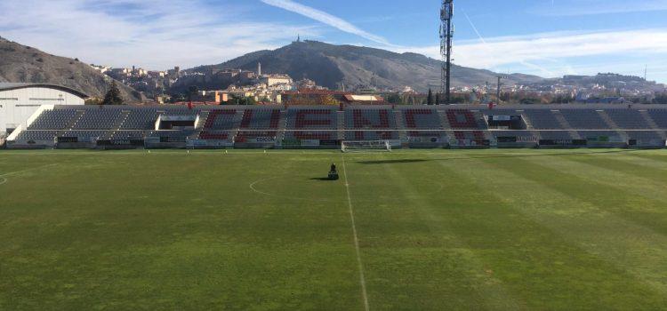Finalizada la obra de los trabajos de seguridad y acondicionamiento funcional del Estadio Municipal de la Fuensanta
