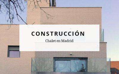 Finalización de las obras de construcción de chalet en Madrid