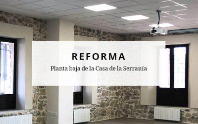 Reforma interior en edificio municipal