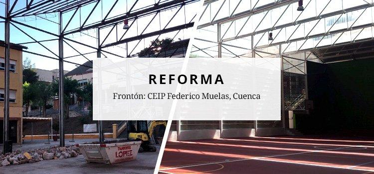 Finalización de las obras de rehabilitación de centro deportivo