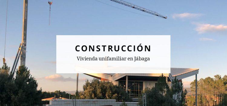 Construcción de vivienda unifamiliar en Jábaga