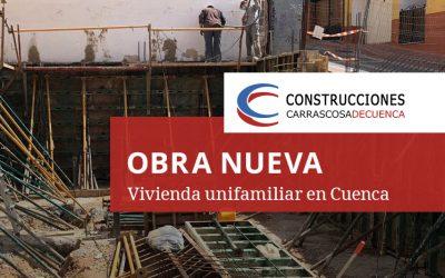 Obra nueva, vivienda unifamiliar en Cuenca