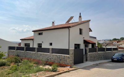Finalización de obra de vivienda unifamiliar en Villar de Olalla